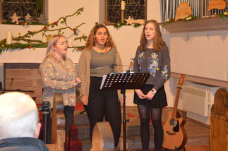 Nadine, Leonie, Johanna