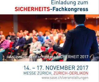 Anton Dörig tritt erneut als gefragter Experte / Top Speaker an der Sicherheitsmesse 2017 in Zürich auf.