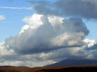 Cloudscape over Mount Barrow