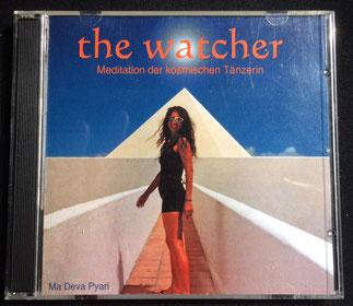 """Doppel CD """"the watcher"""", Meditation der kosmisches Tänzerin, von Ma Deva Pyari"""