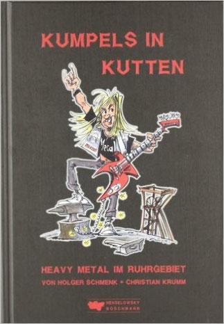 Cover des Buches zum Heavy Metal Kult im Ruhrgebiet: Kumpels in Kutten