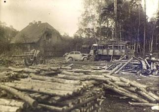 Forsthaus Halbe Ausbruch Straßenkämpfe
