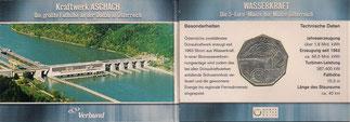 MONEDA AUSTRIA - KM 3105 - 5 EUROS AUSTRIA (CARTERITA OFICIAL) PANTANO EN FOLDER - 2.003 - PLATA - PESO : 10,05 GRM. - DIÁMETRO : 28,1 MM. (PROOF) 20€.