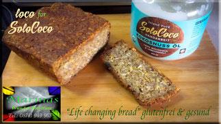 Rezept für das Life Changing Bread (Flohsamenbrot) mit SoloCoco