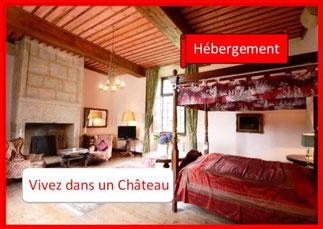 chambre Château de la Touche-Trébry