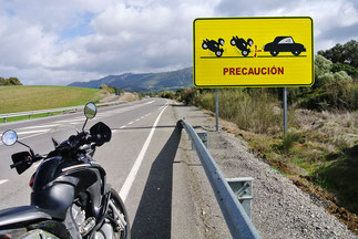 Dürfte eine beliebte Mopedstrecke sein