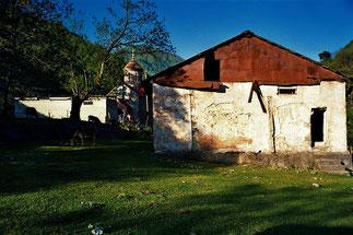 ein kleines Dorf vor Kimati