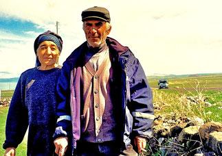Illja und Mechmed - Bauern am Gilgit-See (1.900m hoch)