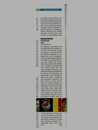 rezension   - CONCERTO zeitschrift / Ernst Weiss