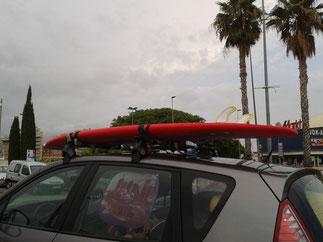 surfing  en familia