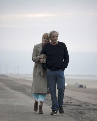Fanny Ardant et Patrick Chesnais sont formidables dans ''Les beaux jours'' (©Le Pacte)