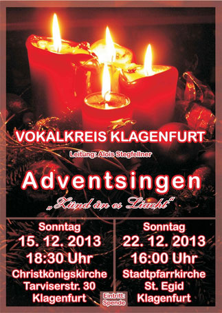 Adventsingen 2013