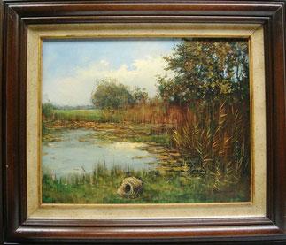 Schilderij Landschap Genemuiden