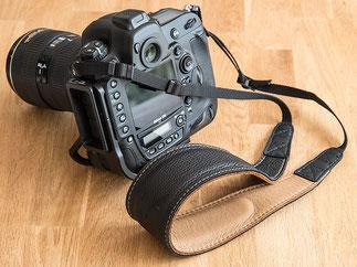 EDDYCAM-Kameragurte: der neue 60mm-Gurt für meine NIKON D4. Foto: bonnescape