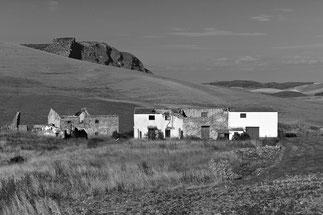 Die verlassenen Häuser vom Arroyo de Buenavista, Sony RX100 M2, Copyright 2016 by Klaus Schoerner