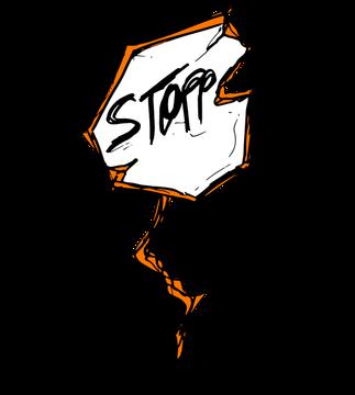 Führungskräftecoaching – Stopp-Schild– © Bianca Fuhrmann – Projekt-Voodoo ®