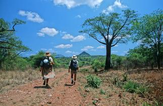 Sonia et Alexandre Poussin - Africa Trek