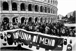 Non una di meno, roma 26 novembre no alla violenza sulle donne, reportage roma