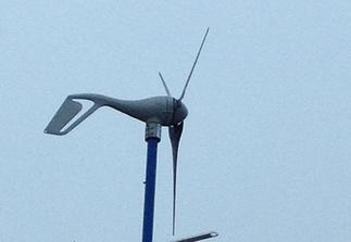 400W Wind turbine from Southwest Windpower Type R30.