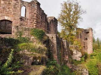 Ruine im Herbst 2017