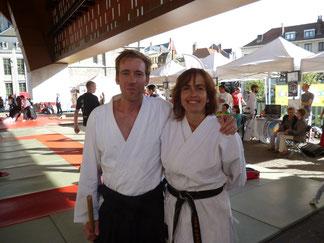 Met Sensei Kris Bielen op de Sportdag september 2013