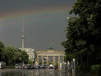 In 30 Minuten sind Sie am Brandenburger Tor