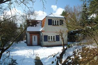 Haus Havelland im Wintermärchen