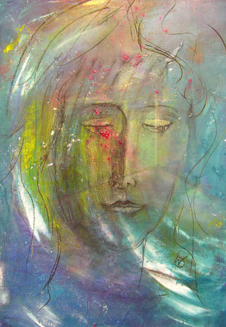 BDL 1609, Acryl auf Leinwand 100 x 70 cm