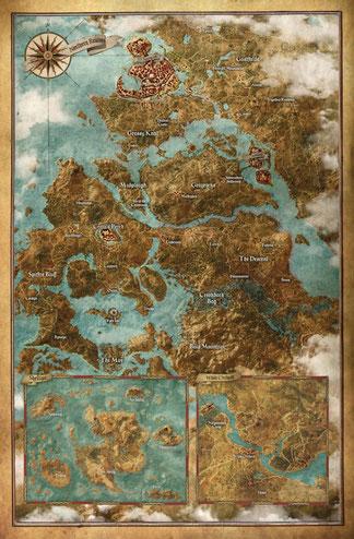 Carte de The Witcher III