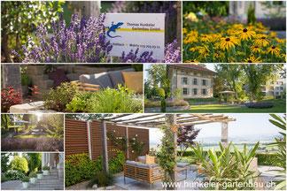 Gartenbau Thomas Hunkeler, Kaltbach, Gartenbau Sursee, Steinmauern, Trockenmauern, Sitzplatz, Sursee, Luzern
