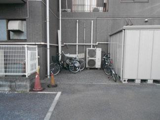 駐輪スペース画像