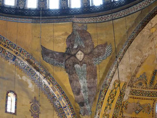 キリスト教時代:顔が描かれている