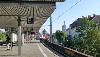 S-Bahn Station Galluswarte