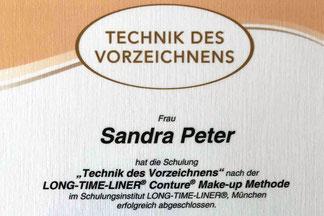Sandra Peter, Lizenz Long Time Liner