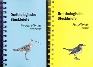 Ornithologische Steckbriefe
