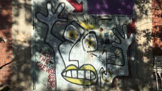 MBSR Stress Graffiti von Marcus Krips: KripsKunstSpam.de | Foto: Gero Sprafke