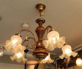シャンデリア 5灯 照明 おしゃれ イタリア製 カパーニ 古木 ランプ 照明器具 5灯式 クラシック エレガント ゴージャス CAPANNI 701092
