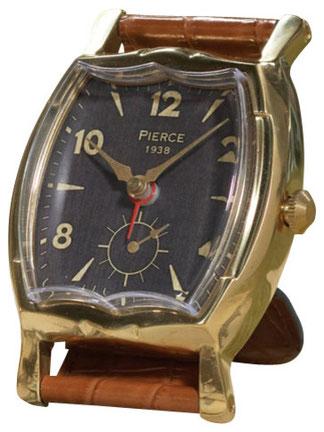 腕時計型置時計 アラーム付置き時計 テーブルクロック タイムワークス TIMEWORKS アメリカ製クォーツ クロコ型肌色 アメリカ製 UTTERMOST クラシック時計 アンティーク時計 インテリア雑貨
