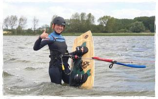 Kiten lernen an der Ostsee, gutschein für einen Kitekurs in Rerik an der ostsee