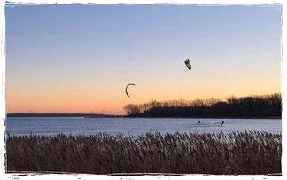 Kitesurfen lernen im Kitekurs in Rerik an der Ostsee.Sei dabei !