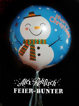 Weihnachten Alex Rehfisch Helium Ballon Geschenk Aachen Düren Eschweiler Gutschein Geld
