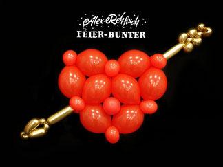 Feier bunter Blumen Ballon Hochzeitstag Valentinstag Aachen Düren Eschweiler Geschenk Liebe