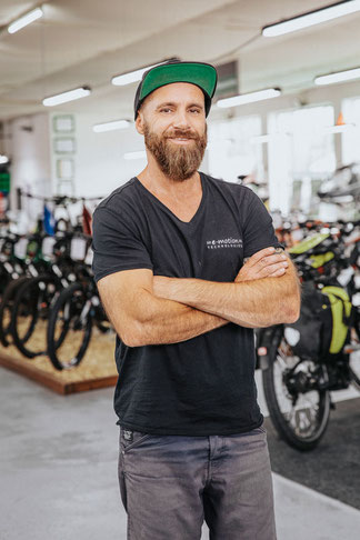 Gerald Baudouin, e-Bike Beratung & Verkauf