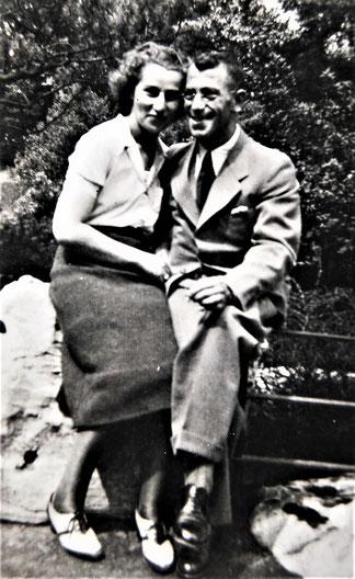 Kurt zusammen mit seiner Ehefrau Lotte (Foto: Privatbesitz Ute Siegeler)