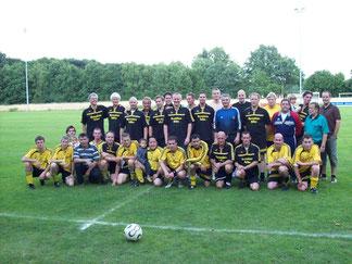 2008 Einweihung Sportheim 1.Herren und Ehemalige