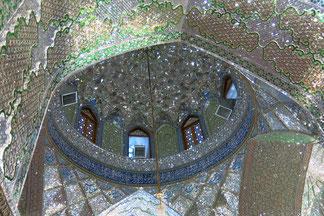 Verspiegeltes Innere des Mausoleums