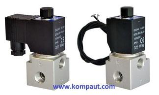 Kompaut , elettrovalvole Airtac a comando diretto serie 3V3