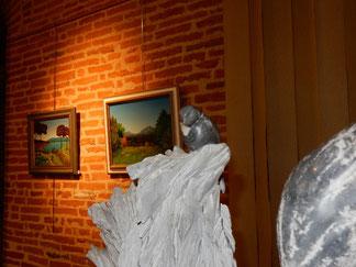 expo  alain besse - serge sallan : albi   2016