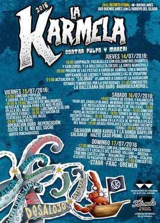 Fiestas de La Karmela en Vallecas