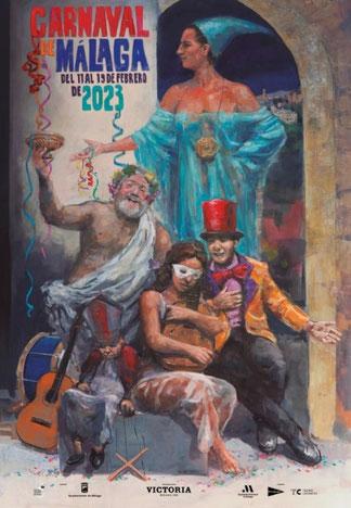 Programa y Cartel del Carnaval de Málaga